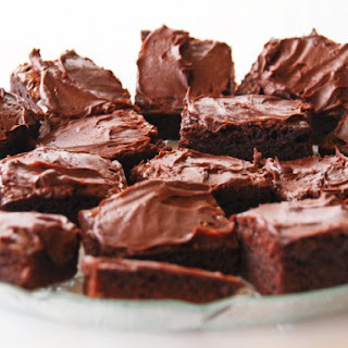 Chocolate Spinach Brownies