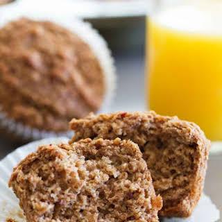 Whole Wheat Bran Muffins.