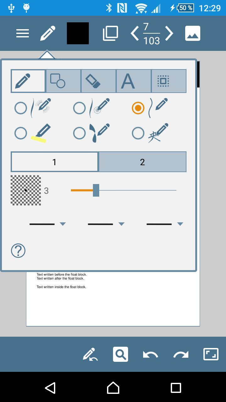 HandWrite Pro Note & Draw screenshot #1