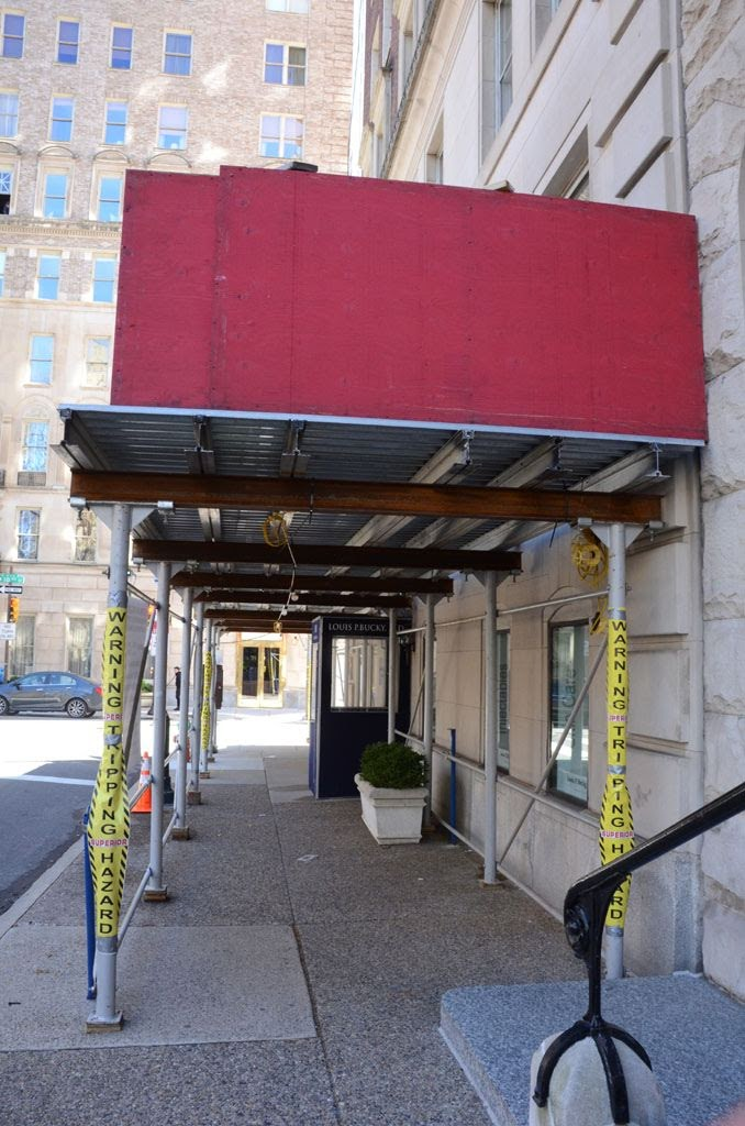 suspended scaffold, masonry, window repair, swings, swing stage, canopy, philadelphia, pa