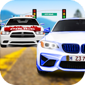 City Car Driving School racing simulator game free