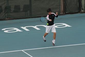 Photo: 米田(1年)は予選を突破し本戦出場。1回戦で準優勝の太田に敗れる。