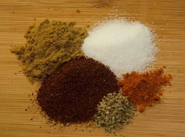 Add the cumin, salt, chili powder, pepper, and cayenne into the stock, and then...