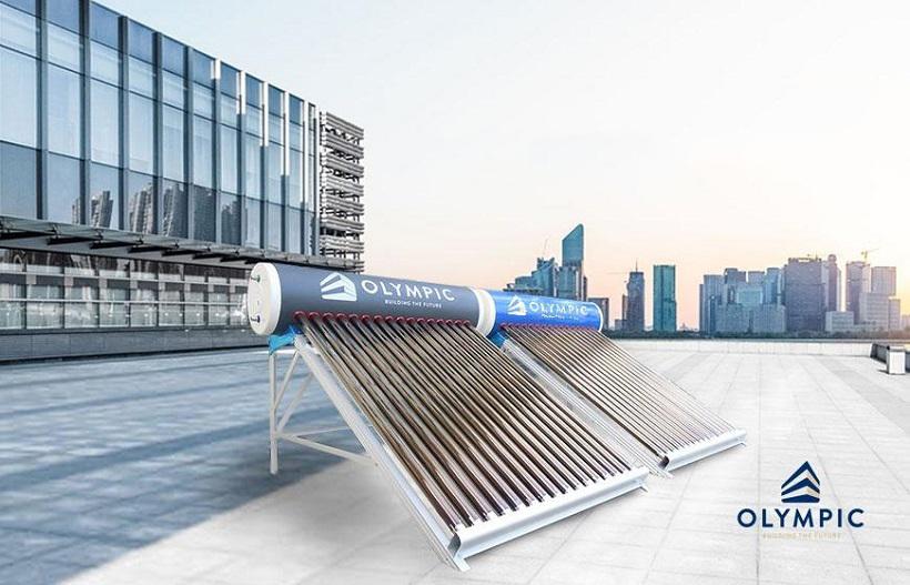 Vẻ đẹp sang trọng của máy năng lượng mặt trời Olympic