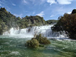 Photo: Waterfalls of Krka National Park