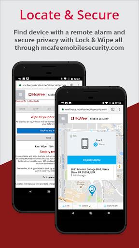 McAfee Mobile Security & Lock screenshot 5