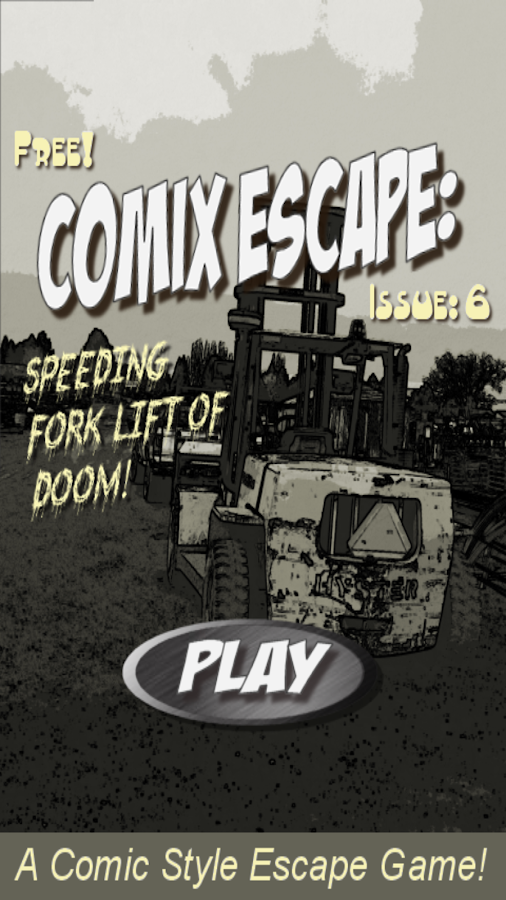 Comix Escape: Forklift- screenshot