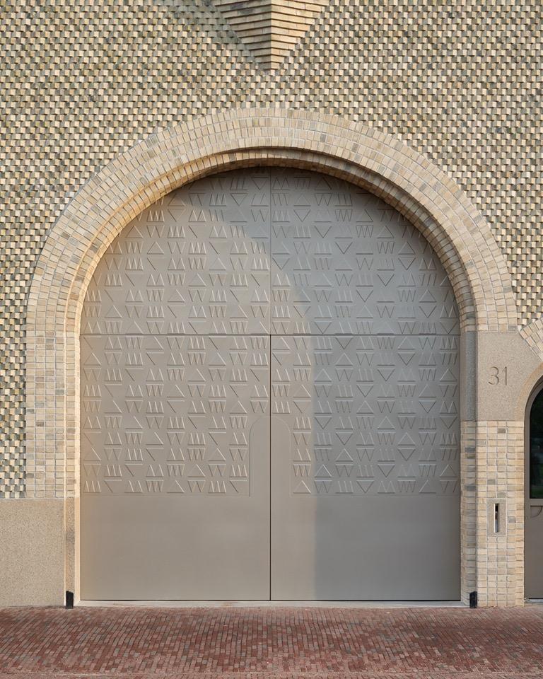 Expeditiedeur aan de Lammermarkt - Hansje van Halem