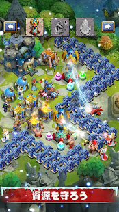 Game Castle Clash:頂上決戦 APK for Windows Phone