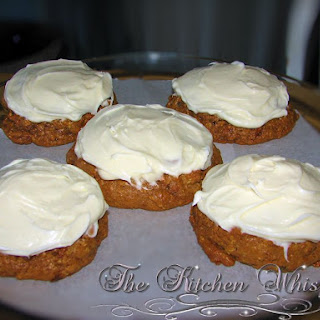 Day 1 - Countdown to Christmas - Carrot Cake Cookies
