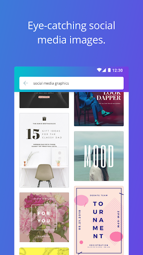 Canva: Poster, banner, card maker & graphic design 1.8.2 Screenshots 3