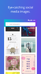 Canva: Poster, banner, card maker & graphic design APK screenshot thumbnail 3