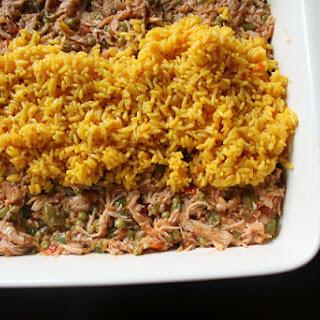 Arroz con Pollo Relleno {Stuffed Chicken & Rice}.
