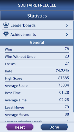 FreeCell Solitaire Classic u2013 free cell card game android2mod screenshots 4