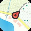 Topo GPS Belgium icon