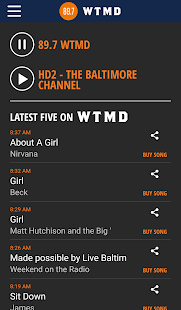 89.7 WTMD- screenshot thumbnail