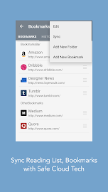 Mercury Browser for Android Screenshot 6