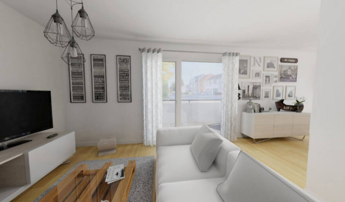Apartment with terrace Rennes