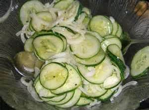 Sweet-sour Cucumber Salad Recipe