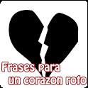 Frases para un corazon roto icon
