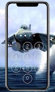 Flight Lock Screen - náhled