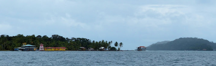 Photo: Passing Isla Carenero