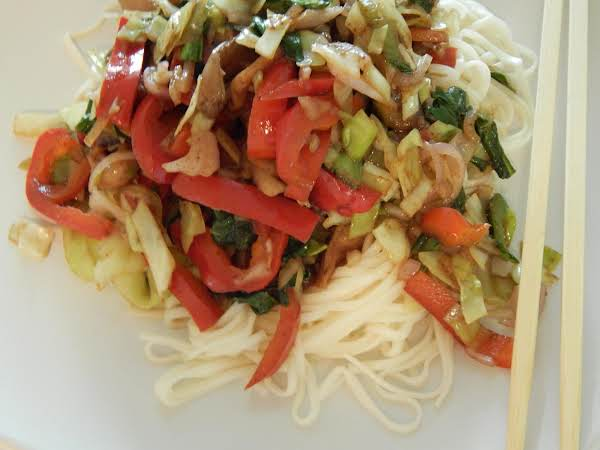 Veggie And Noodle Stir Fry Recipe