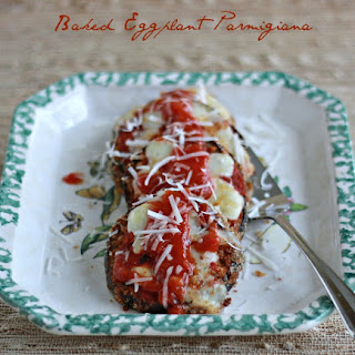 Baked Eggplant Parmigiana