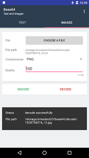 Screenshot 4 Base64 - Encode & Decode