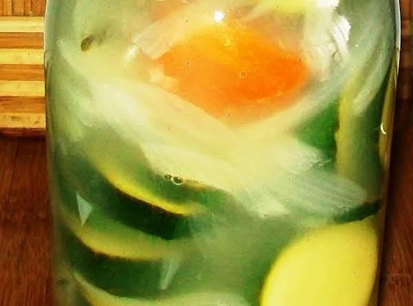 Pickled Zucchini Recipe