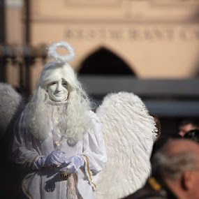 Angel  by VAM Photography - People Street & Candids ( places, woman, culture, angel, people, costume )