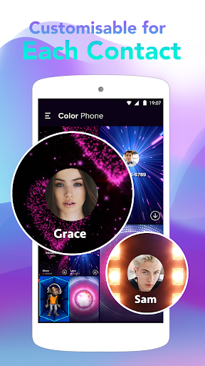 Screenshot for Color Call - Caller Screen, LED Flash in United States Play Store