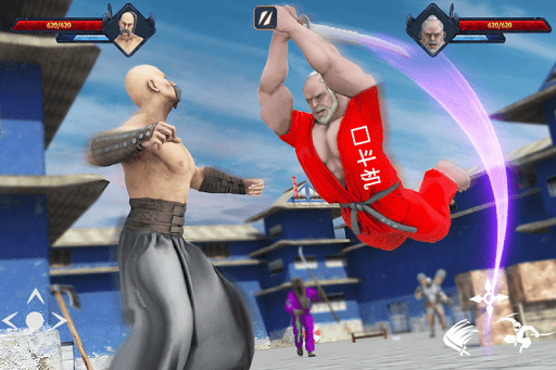 Super Ninja Kungfu Knight Samurai Shadow Battle  screenshots 11