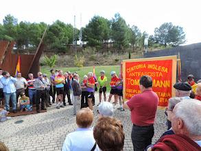 Photo: Bienvenida al Clarion 1895 y acto de homenaje a las BBII en el Parque de la Memoria de Sartaguda. Foto: María Irisarri / Parquedelamemoria.org CC-By-Nc-Sa