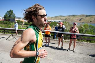 Photo: Kodi Rider heading out on the run.