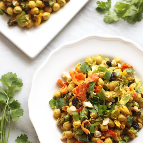 Whole Foods Curry Chickpea Salad