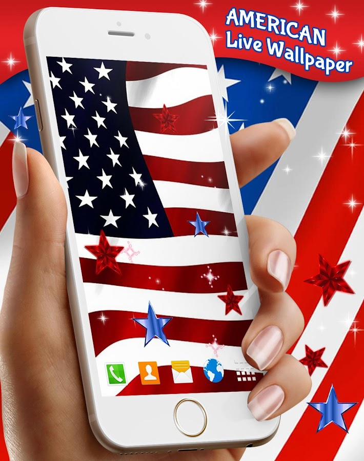 American Live Wallpaper- screenshot