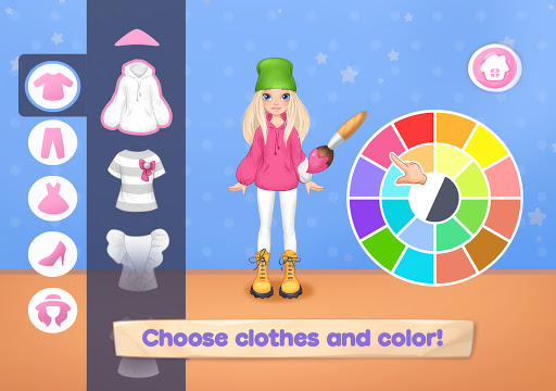 Fashion Dress up games for girls. Sewing clothes 5.0.8 screenshots 7