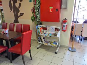 Photo: Menjalnica knjig Caffetteria, Spar Trbovlje.