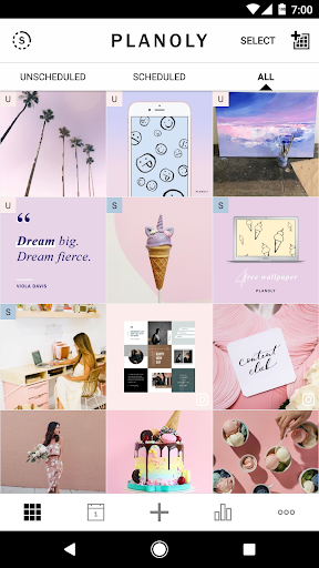 Foto do Planoly: Instagram Posts Scheduler & Feed Planner
