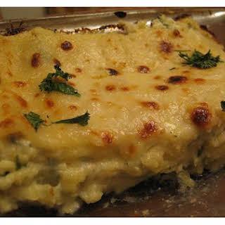 Four-Cheese Lasagna.