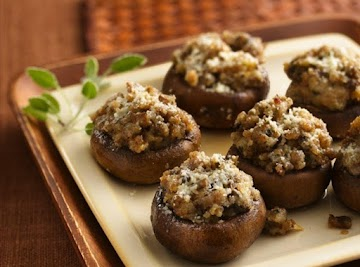 Smorgasbord Of 'shrooms Pepperoni Stuffed Recipe