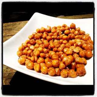 Bacon Roasted Chickpeas.