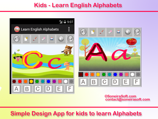Kids-Learn English Alphabets