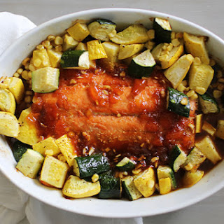 Ayesha Curry's Quick & Easy Apricot Salmon.
