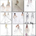 Wedding Dress Sketches Designs 2017 icon