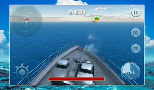 Modern Warship Combat Gunner
