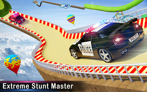 Police Ramp Car Stunts GT Racing Car Stunts Game 1.3.0 screenshots 9