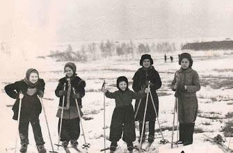 Photo: На лыжной прогулке с Кархалевыми