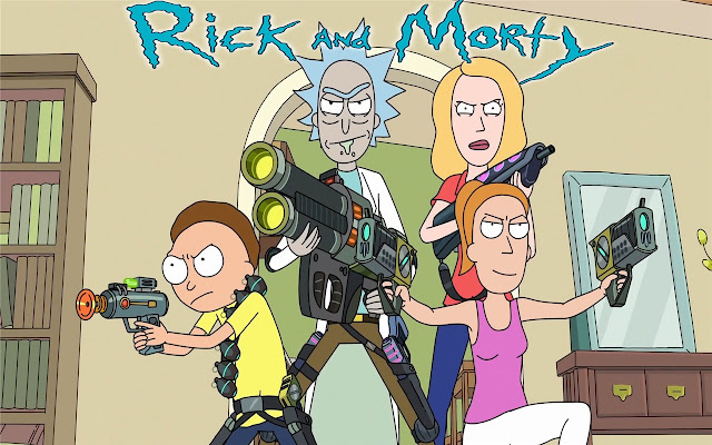 Rick and Morty Themes & New Tab